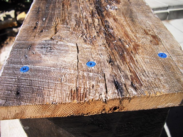 One Thing That Is Unpredictable About Barn Board Furniture U2013 They May Have  Hidden Nails. I Cut Through Some During The Trimming Process.