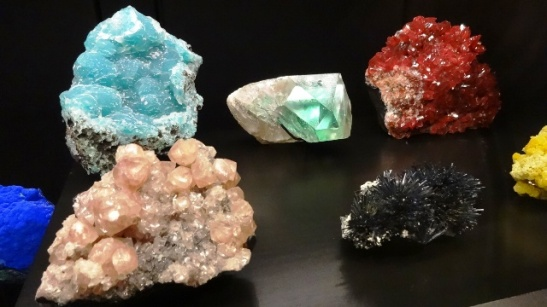 Crystals at Museum of Nature. Photo by Alan Viau