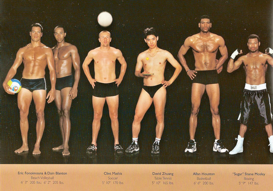 Different Body Types Olympic Athletes Howard Schatz 13