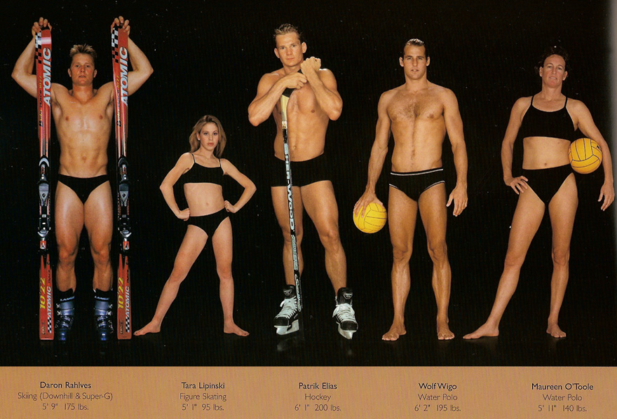 Different Body Types Olympic Athletes Howard Schatz 7