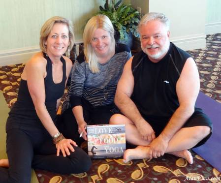 With Liz and Kristen after a yoga practice