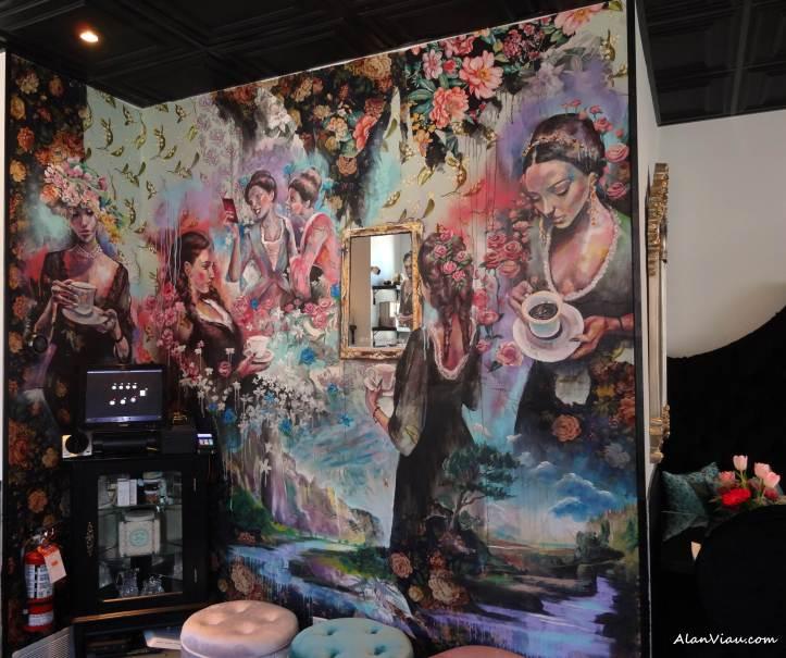 Vanitea room mural