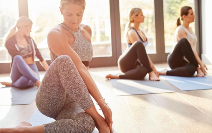 Yoga classes could help cancer survivors CREDIT: SAM ROBINSON