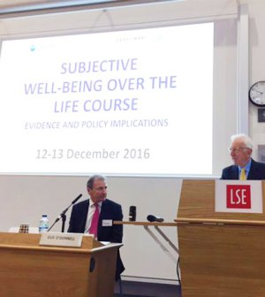 Lord O'Donnell opening the conference at the LSE (SOMCEO/Twitter)